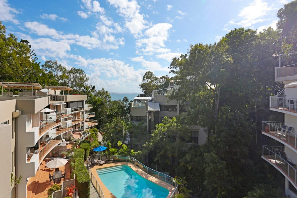 View of the cove noosa resort