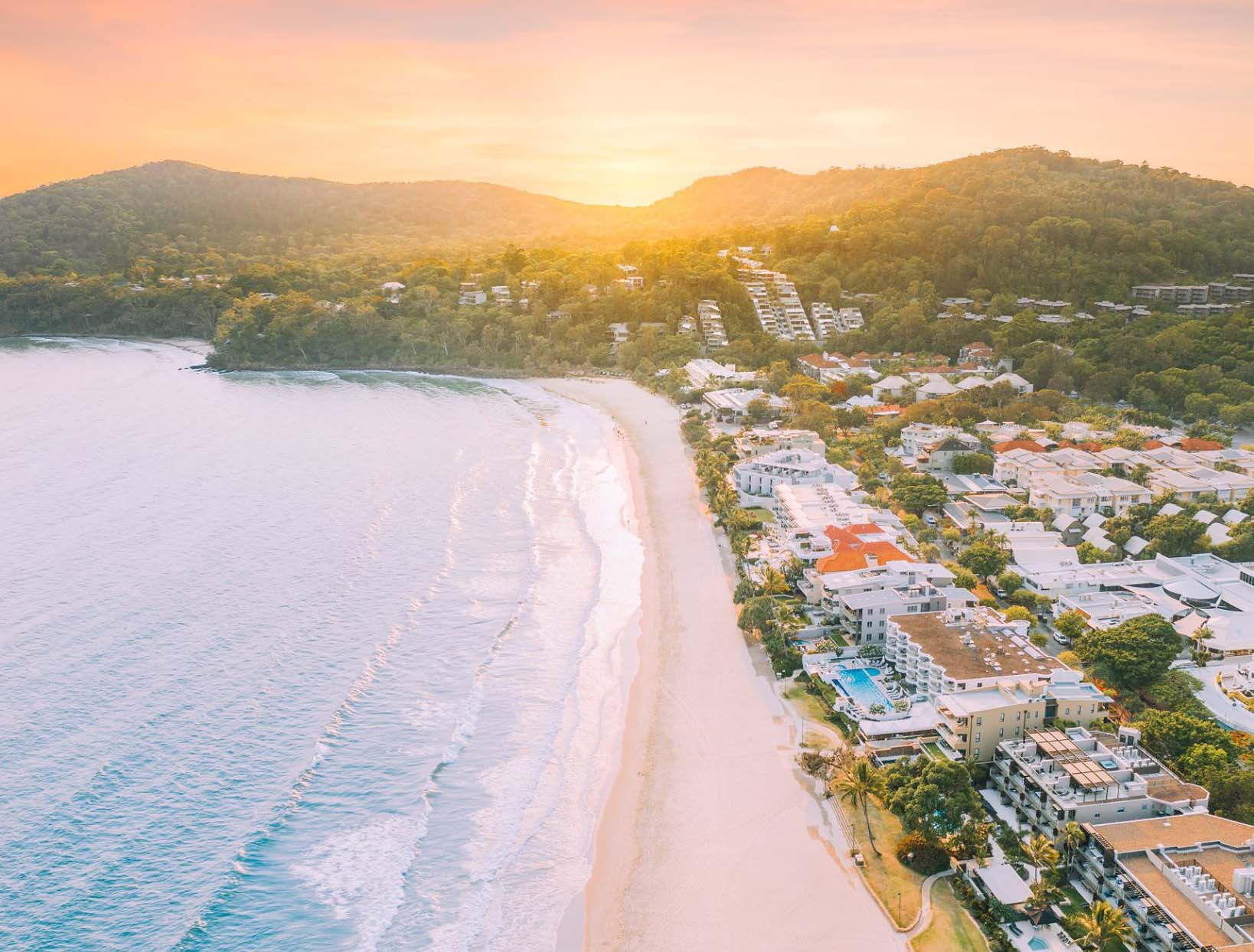 best holiday destinations in Australia - Noosa beach and park